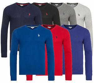 U.S. POLO ASSN. V-Neck Sweater Herren Pullover - Outlet46 über ebay