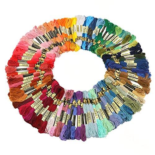 Jumbo Vorratspackung an Stickgarn Sticktwist mehrfarbige (100 Döckchen) für 3,99€ Amazon Prime
