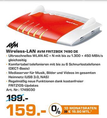 [Lokal - Saturn Duisburg] Fritzbox 7490 für 159€