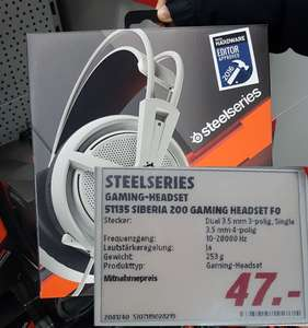[MUC] Steelseries Siberia 200 im Media Markt