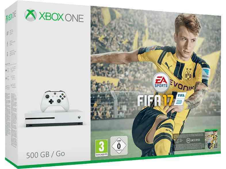 Xbox One S 500gb Fifa 17 Bundle
