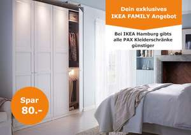 Ikea Family Lokal Hamburg Pax 236 Cm Höhe Pro Meter Bis Zu 40