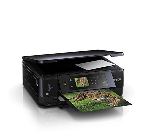 Epson Expression Premium XP-640 3-in-1 Tintenstrahl-Multifunktionsgerät (Drucker, Scanner, Kopierer, WiFi, Duplex, CD/DVD Druck, Einzelpatronen) schwarz für 93,49  [Amazon]