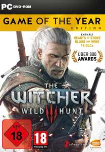 The Witcher 3: Wild Hunt GOTY (PC) für 19€ (Cdkeys)
