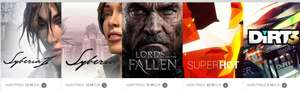 Pc, Steam: Syberia II, Syberia, Lords Of The Fallen Digital Deluxe, SUPERHOT, DiRT 3 Complete Edition zusammen ab 1,5€