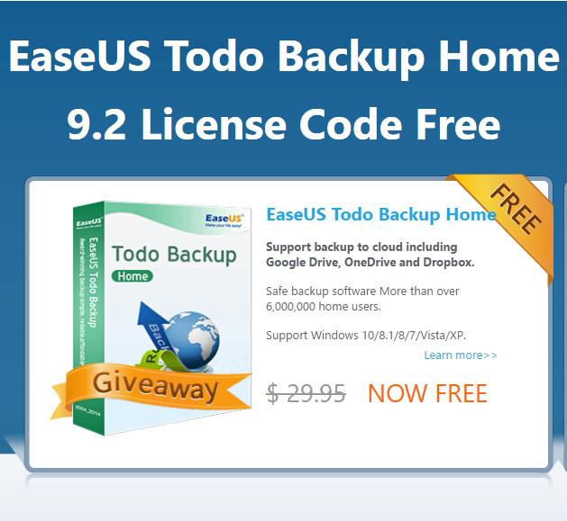 EaseUS Todo Backup Home 9.2 48 Stunden kostenlos über Deskmodder.de
