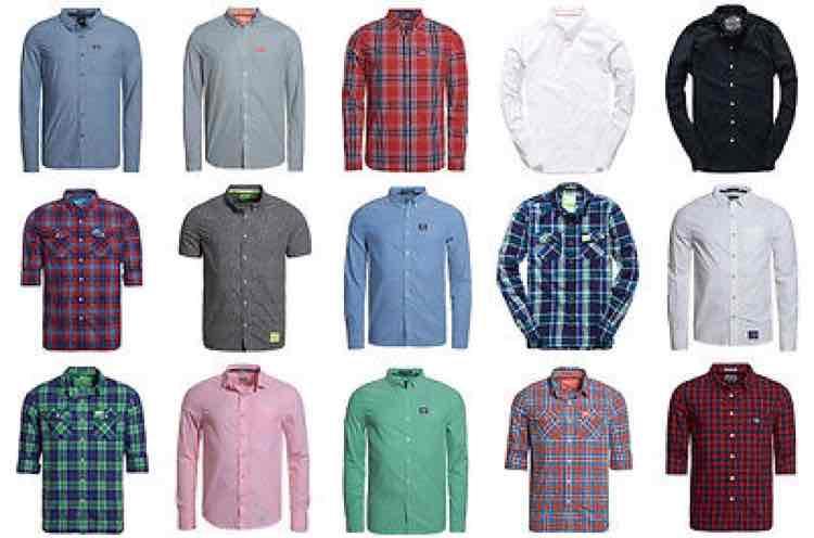 eBay: Superdry Herren Hemden (verschiedene Modelle + Farben) für je 24,95€