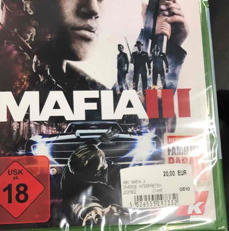 Mafia 3 für 20€ im Media Markt Ingolstadt