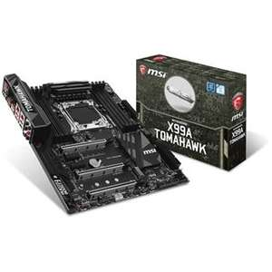 [Mindfactory] MSI X99A Tomahawk Intel X99 So.2011-3 Quad Channel DDR4 ATX Retail für 207,71€