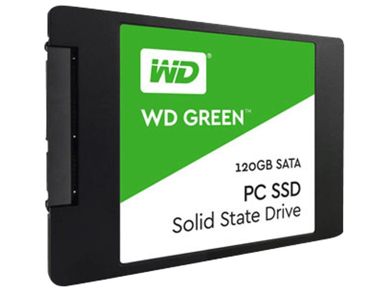 WD Green, Interne SSD, 120 GB, 2.5 Zoll Media Markt VSK-Frei