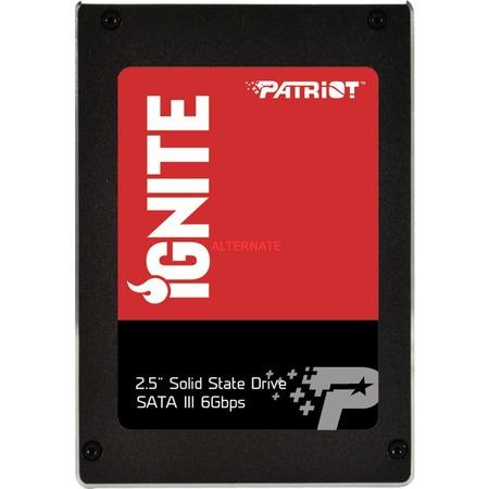 ZackZack Angebot: Patriot Ignite SSD mit 480GB PI480GS25SSDR (MLC, sehr gute Performance) 25€ unter dem Preisvergleich
