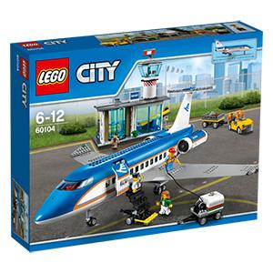 real Lego City Flughafen