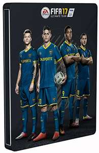 FIFA 17 - Steelbook Edition (PS4) (exkl. bei Amazon.de) für 27,62€ inkl. VSK (Amazon Blitzangebot)
