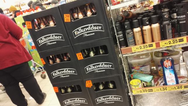 (Lokal Netto MD) Bestes Falkenfelser Export oder Pilsener Kasten Bier