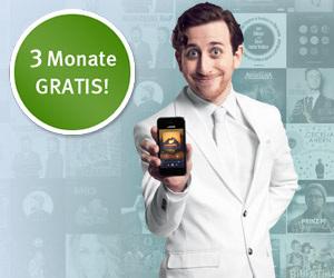 Deezer 3 Monate gratis - gültig bei Registrierung Freemail auf web.de