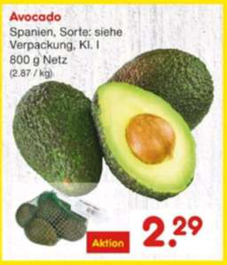 Avocados (800 g Netz) bei Netto MD