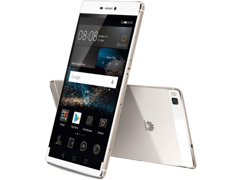 """Huawei P8 Titanium Grey - 16GB, 5,2"""" FHD Display, Android 6.0, Octa-Core 2.0GHz, 3GB Ram + Gratis McAfee Livesafe 2016 Attach für 219€ versandkostenfrei"""