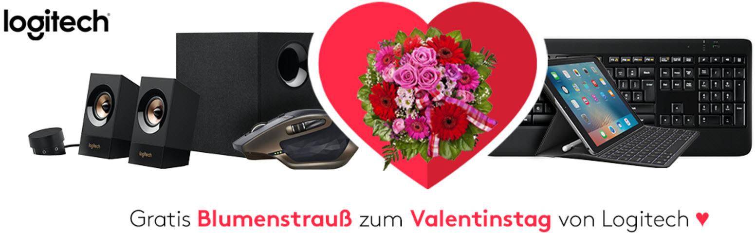 Amazon Blumenstrauß (Wert ca. 25,99€) kostenlos beim Kauf eines Aktionsprodukt von Logitech zum Valentinstag z.b MX Master 69,99