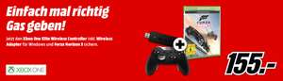 Xbox One Elite Controller + Forza Horizon 3 + Wireless Adapter (Media Markt)