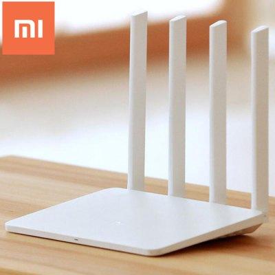 Original Chinese Version Xiaomi Mi WiFi Router 3  -  CHINESE PLUG  WHITE (Gearbest)