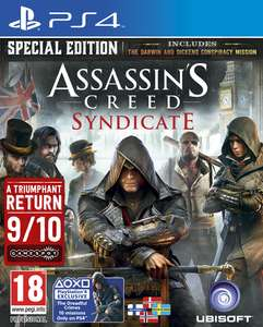 Assassin's Creed: Syndicate - Special Edition (PS4) Standard Edition (Xbox One) 16,49€ inkl. VSK