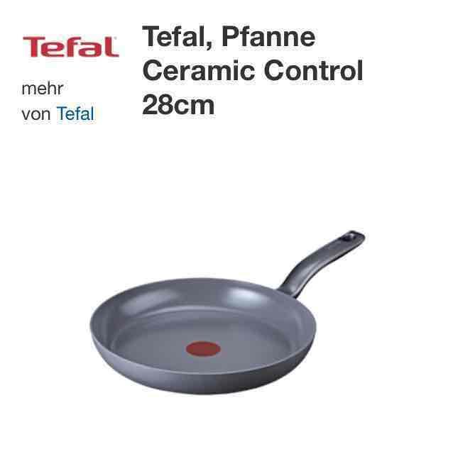 Tefal Ceramic Control 28cm induktion online bei Real -5€ Newslettergutschein möglich