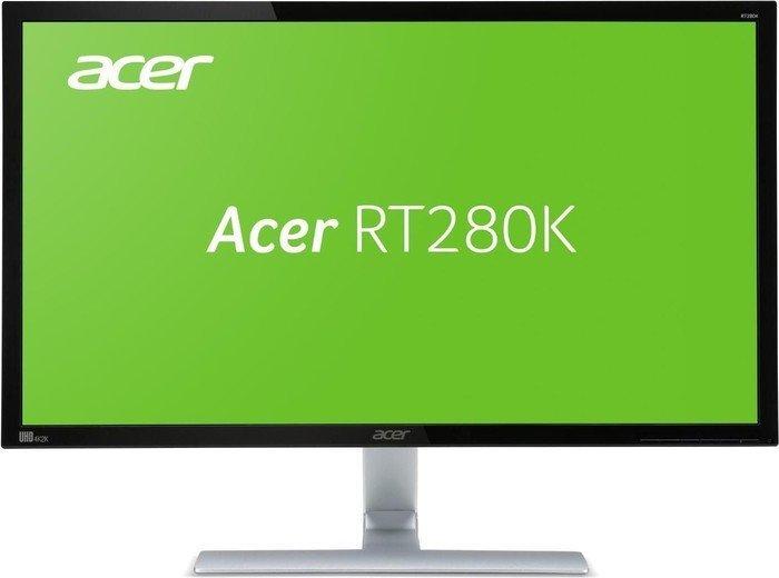 Acer RT280Kbmjdpx Monitor (28'' UHD TN, 300cd/?m², 1ms, DVI + HDMI + DP, FreeSync, VESA) für 312,55€ [Masterpass] [NBB]