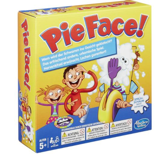 20% auf die Marken Hasbro und Mattel bei [GALERIA Kaufhof] z.B. Pie Face für 15,99€ bei Abholung
