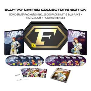 [Blu-ray] Captain Future Komplettbox BD (Limited Collector's Edition exklusiv bei Amazon.de)