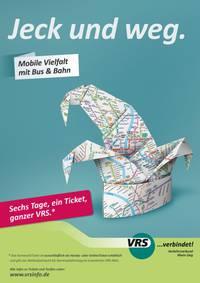 KarnevalsTicket 2017: Sechs Tage, ein Ticket, ganzer VRS