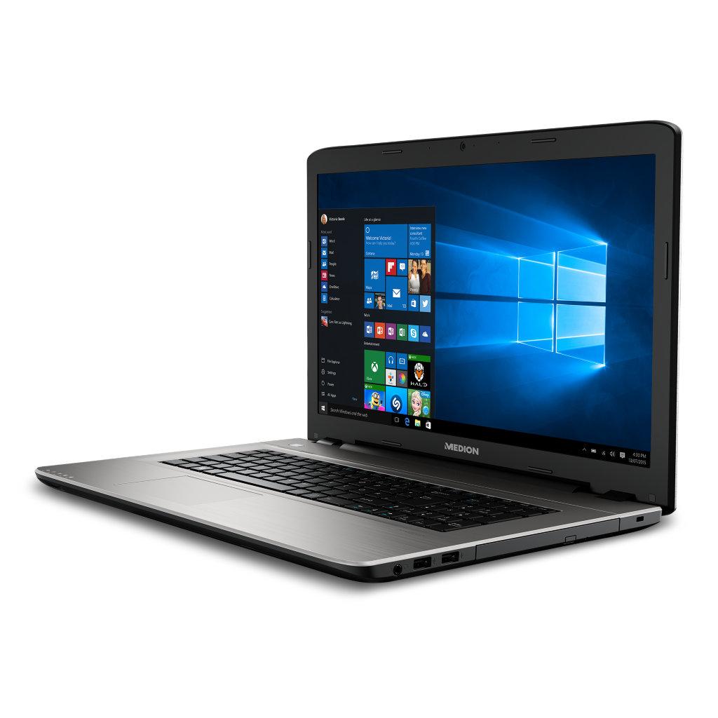 """Medion Akoya E7419 mit Pentium 4405U, 8GB RAM, 1TB HDD, 17,3"""" Full-HD matt, Win 10 für 369€ bei Medion"""