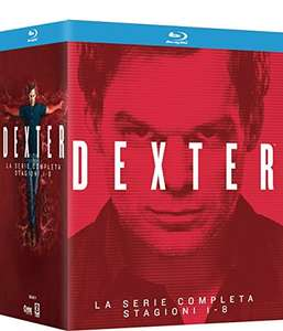 Dexter - Die komplette Serie (32 Blu-ray) für 50,40€ (Amazon.it)