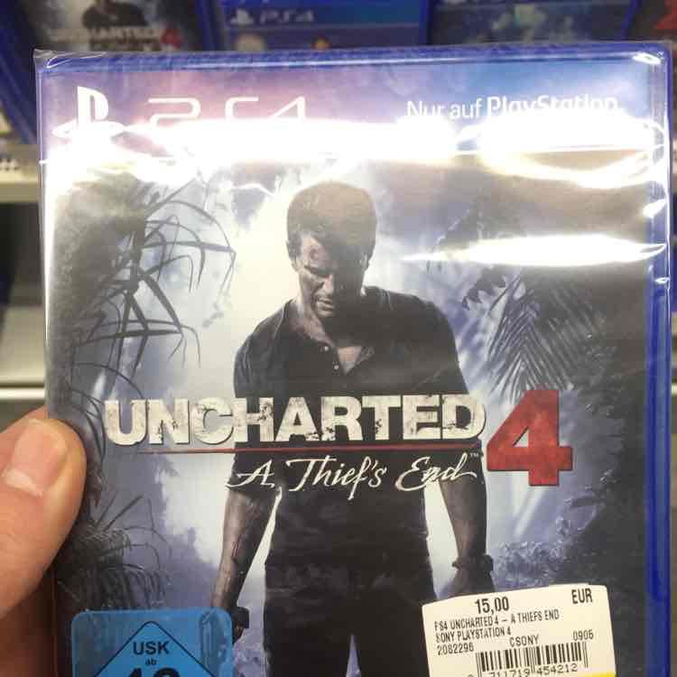 [MM Eiche] Uncharted 4 PS4 für 15€