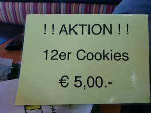 [Lokal AT Amstetten] Subway: 12 Cookies = 5€