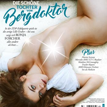 Playboy Halbjahresabonnement mit 6 Ausgaben (7 bei Bankeinzug) + Gin Mare (Wert ca. 35€)