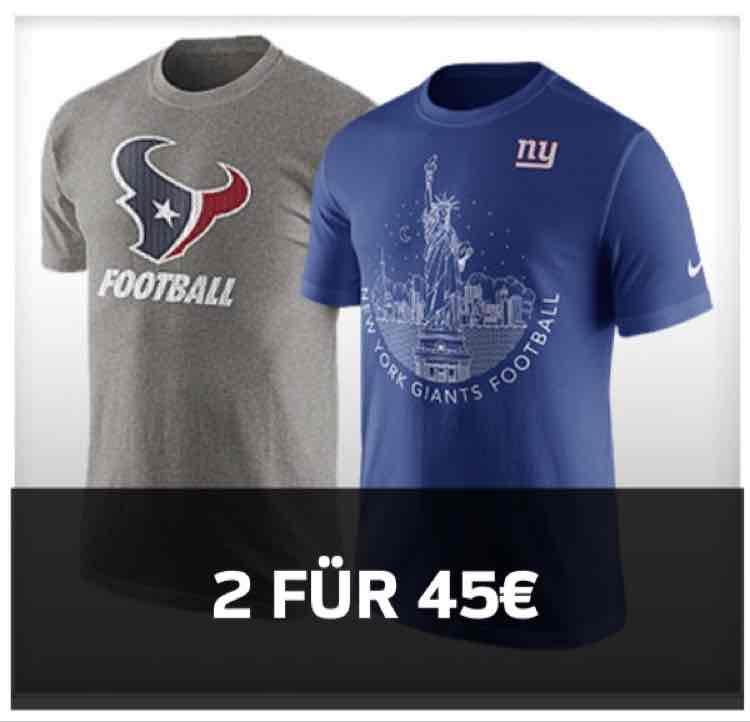 [Europe NFL Shop] - 2 Original NFL Shirts für 47,01€ inkl Versand (durch 15% Discount Mail)