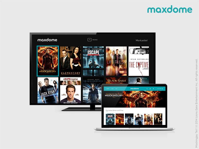 2 Monate gratis Maxdome bei Bestellung via Lieferheld