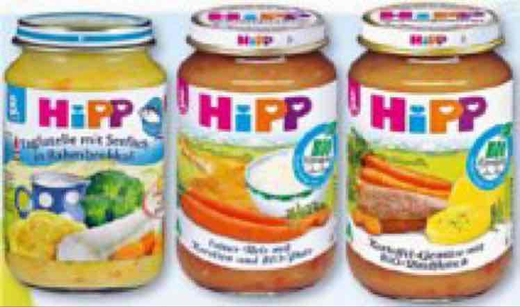 20% auf alle HIPP Gläschen bei Rossmann 20.3-24.3