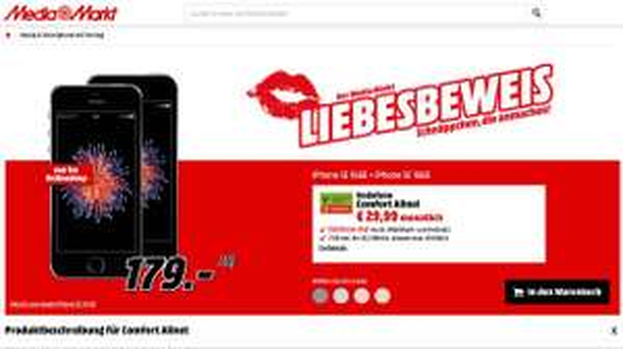 2x iPhone 16GB mit Mobilcom Vertrag - MM