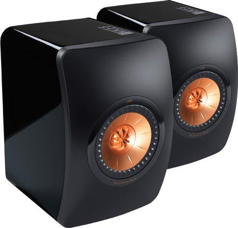 [B-Ware] KEF LS 50 (schwarz / bronze) - Paarpreis
