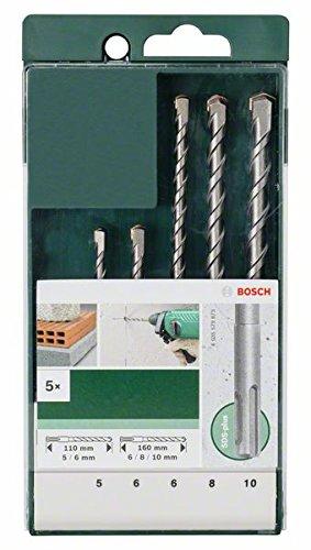 [Prime] Bosch DIY 5tlg. Hammerbohrer-Set SDS-plus