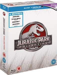 ZAVVI Clearance: Jurassic Park 1-4 (BluRay Box) & Stirb Langsam Legacy Collection (BluRay) für €15,35 (mit Neukundengutschein -10%)