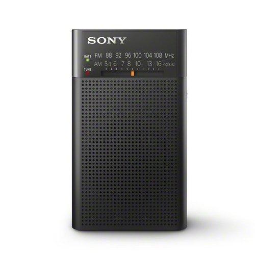 [Amazon Prime oder Saturn] Sony ICF-P26 Analogtuner (UKW/MW mit Frontlautsprecher, Kopfhörerausgang, Batterienbetrieb) schwarz
