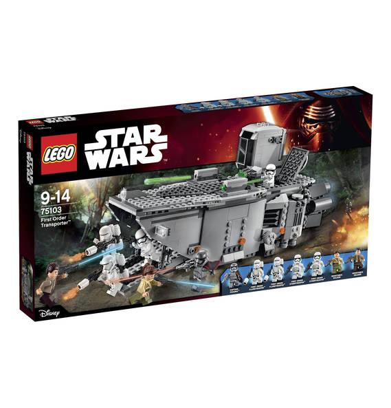 LEGO Star Wars First Order Transporter 75103 für 53,99€ + 540Payback