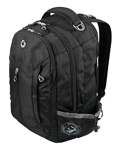 Wenger Freizeit,-Laptop Rucksack (WG12882415) in der Farbe schwarz/grau @DC [+3% shoop]