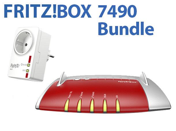 [Rakuten.de] AVM FRITZ!BOX 7490 WLAN Bundle DECT 200 179,74 € inkl.Versand