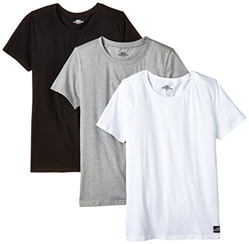 Dreierpack T-Shirts für Herren (S-XXL) in verschiedenen Farbkombis für 9,98€ mit [Amazon Prime]