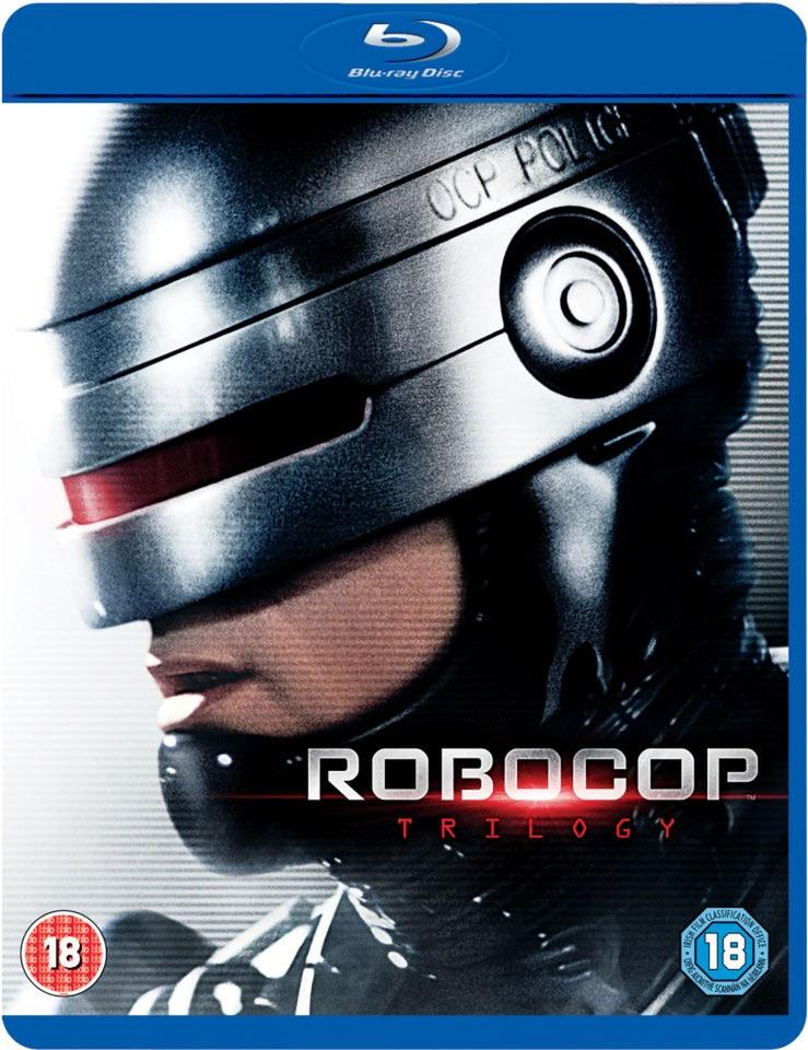 Robocop Trilogy (Inkl. Robocop Remastered) [Blu-ray] für 8,27€ (Zavvi.com)
