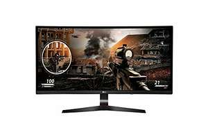 "LG 34 UC79G-B 34"" Ultrawide Curved 21:9 144hz Freesync 2560x1080 Gaming Monitor @amazon.it"