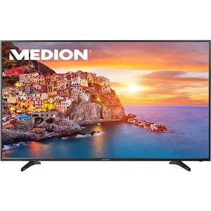 "163,8 cm (65"") LED-TV MEDION LIFE P18088 (MD 31178), Ultra HD 4k, HD Triple Tuner, DVB-T2, USB 3.0 für 699 € @ plus.de"